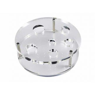 DEC 12 Decomedical Plexiglashouder voor Decomedical borstels DEC12